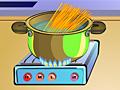 Готовим спагетти с тунцом