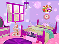 Фиолетовая cпальня