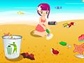 Уборка пляжа