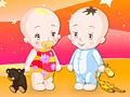 Малыши близнецы