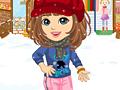Зима Доры