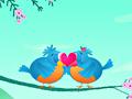 Целующиеся птички