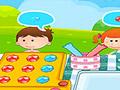 Шоколадное печенье для детей