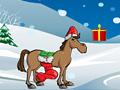 Новогодняя лошадь