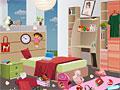 Уборка симпатичной спальни Евы