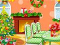 Гостиная на Рождество