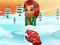 Борьба Долли снежками