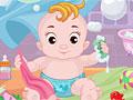 Малыш в ванной
