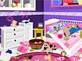 Уборка в комнате школьницы