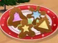 Сара готовит новогоднее печенье