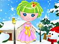 Зимняя кукла-фея