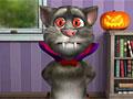Говорящий кот Том на Хэллоуин