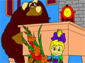 Маша и Медведь: подготовка школе