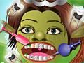 Принцесса Фиона у стоматолога