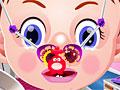 Малышка Эмма лечит нос