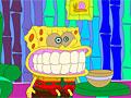 Детская раскраска: злой Спанч Боб