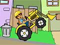 Диего чистит окружающую среду на тракторе