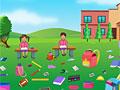 Школьная уборка