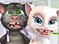 Анджела и Том у дантиста