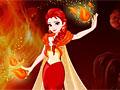 Огненный макияж Эльзы