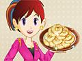 Кухня Сары: яблочные пончики