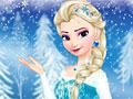 Ледяной макияж для Эльзы