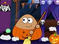 Уборка Поу на Хэллоуин