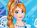 Морозный макияж для Анны