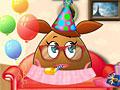 День рождение девочки Поу