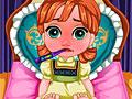 Малышка Анна заболела гриппом