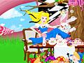 Алиса в стране чудес: художественное оформление