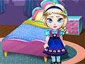 Художественное оформление комнаты малышки Эльзы