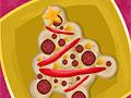 Пицца - рождественская елка