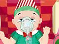 Малыш Санты заболел гриппом
