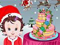 Рождественский торт малышки Лизи