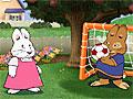Макс и Руби играют в футбол
