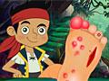 Раненая нога пирата Джейка