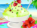 Фисташковое мороженое