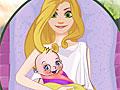 Рождения малыша Рапунцель