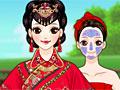 Китайский свадебный макияж
