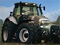 Мчащийся безумный трактор