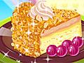 Пирог с лесным орехом