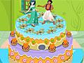 Торт для принцессы Жасмин