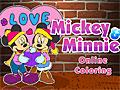 Микки Маус и Минни: Онлайн раскраска