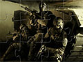 Солдаты с ружьями пазл