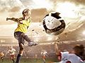 Сумасшедший футбол пазл