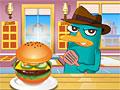 Финис и Ферб: Перри готовит гамбургер