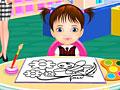 Маша первый день в детском саду