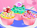 Красочные кексы