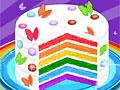 Кулинария: Радужный торт